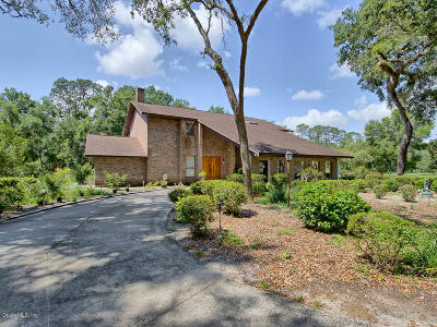Lady Lake Single Family Home For Sale: 4040 Lake Griffin Road