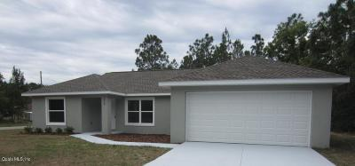 Ocala Single Family Home For Sale: 38 Pine Trace Loop