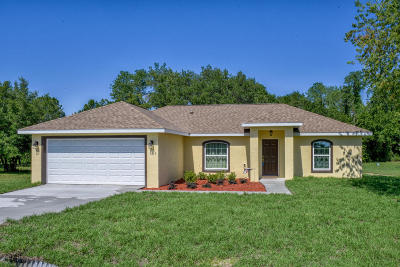 Ocala Single Family Home For Sale: 126 Juniper Drive