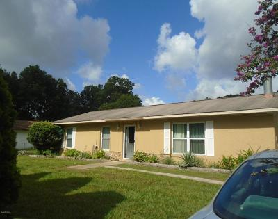 Ocala Single Family Home For Sale: 6022 NW 54th Terrace