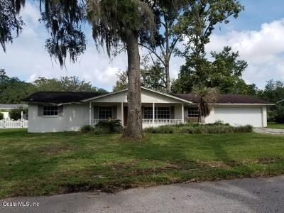 Ocala Single Family Home For Sale: 630 SE 40th Terrace