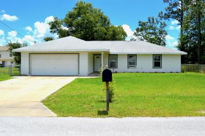 Ocala Single Family Home For Sale: 7 Bahia Pass Run