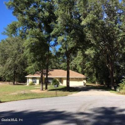 Citrus County, Levy County, Marion County Rental For Rent: 19025 SW 100th Place