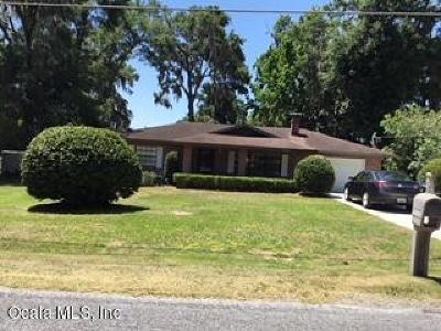 Belleview Single Family Home For Sale: 5812 SE 127th Place