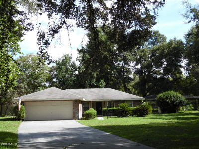 Citrus County, Levy County, Marion County Rental For Rent: 10680 SW 69th Terrace
