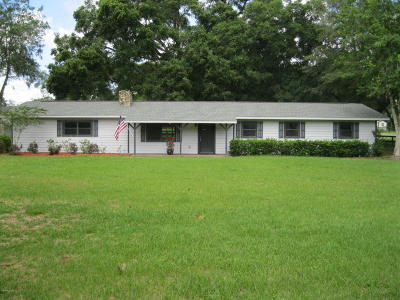 Marion County Single Family Home For Sale: 13 Carry Back Road