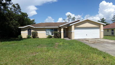 Single Family Home For Sale: 2263 SW 156th Loop