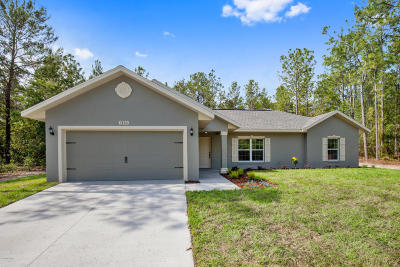Ocala Single Family Home For Sale: 7850 SW 127th Loop