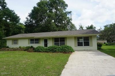 Belleview Single Family Home For Sale: 9363 SE 109th Lane