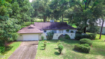 Dunnellon Single Family Home For Sale: 19754 SW 85th Loop