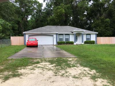 Marion County Single Family Home For Sale: 13342 SE 42nd Avenue
