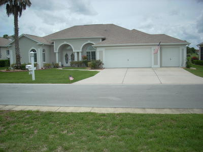 Ocala Palms Single Family Home For Sale: 2541 NW 59th Terrace