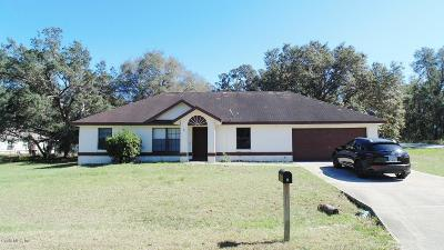 Ocala Single Family Home For Sale: 3 Bahia Pass Crse