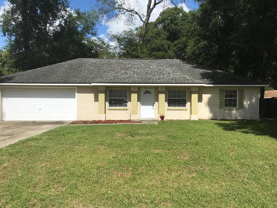Marion County Single Family Home For Sale: 4280 NE 34th Court