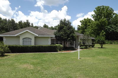 Marion County Single Family Home For Sale: 7644 SW 63 Ave Road