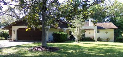 Ocklawaha Single Family Home For Sale: 16698 SE 54th Street
