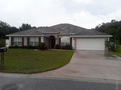 Belleview Single Family Home For Sale: 9797 SE 41st Court