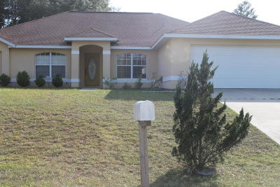Ocala Single Family Home For Sale: 6282 SW 144th Place