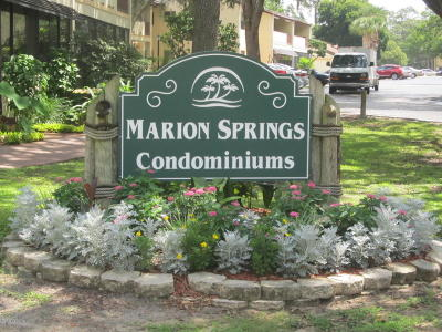 Ocala Condo/Townhouse For Sale: 3507 E Fort King Street #235
