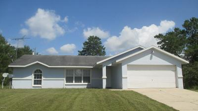 Single Family Home For Sale: 2817 SW 172nd Lane Rd. Road