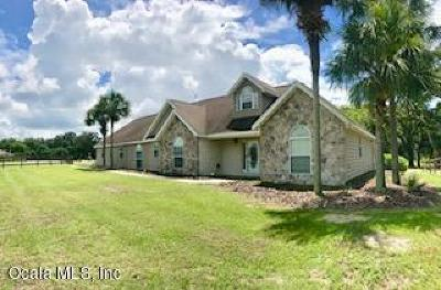 Levy County Single Family Home For Sale: 19950 SE 15th Place