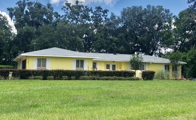 Ocala Single Family Home For Sale: 517 Spring Lake Road