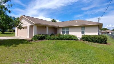 Ocala Single Family Home For Sale: 87 Almond Road