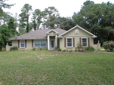 Belleview Single Family Home For Sale: 4605 SE 112th Place