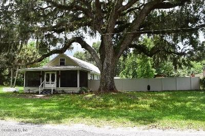 Reddick Single Family Home For Sale: 5200 NW NW 191 Place