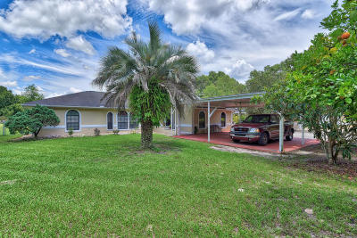 Ocala Single Family Home For Sale: 10181 SE 111th Court