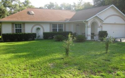 Single Family Home For Sale: 13649 SW 40th Circle