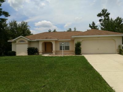 Marion Oaks North, Marion Oaks South, Marion Oaks Rnc Single Family Home For Sale: 13667 SW 43rd Circle