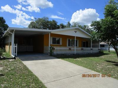 Single Family Home For Sale: 10060 SW 99th Avenue