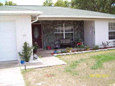 Citrus Springs Single Family Home For Sale: 6027 N Buckland Drive