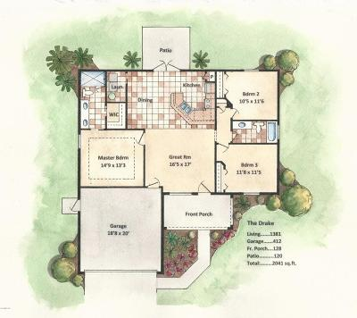 Single Family Home For Sale: 69 Redwood Track Course