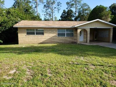 Dunnellon Single Family Home For Sale: 21448 SW Raintree St