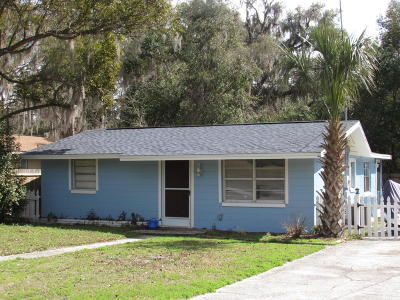 Dunnellon Single Family Home For Sale: 11857 Bostick Street