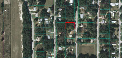 Belleview Residential Lots & Land For Sale: SE 101st Terrace