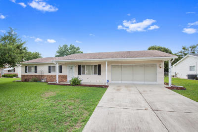 Summerfield FL Single Family Home Pending-Continue to Show: $122,500