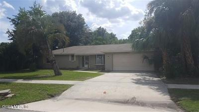Marion Oaks North, Marion Oaks South, Marion Oaks Rnc Single Family Home For Sale: 14760 SW 38th Avenue