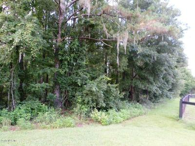 Ocala Residential Lots & Land For Sale: NW 122 Court