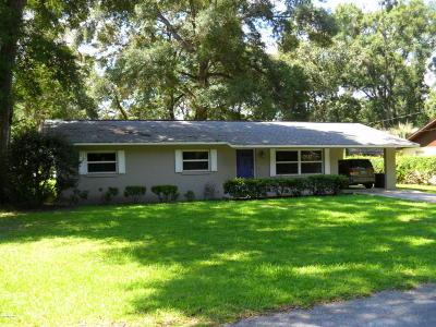 Ocala Single Family Home For Sale: 1440 NE 38th Street