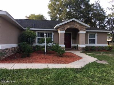 Dunnellon Single Family Home For Sale: 13715 SW 113th Lane