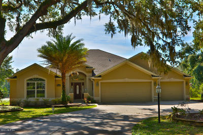 Weirsdale FL Single Family Home For Sale: $715,000