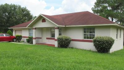 Ocala Single Family Home For Sale: 15275 SW 47th Terrace