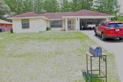 Ocala Single Family Home For Sale: 16133 SW 23rd Ct Road