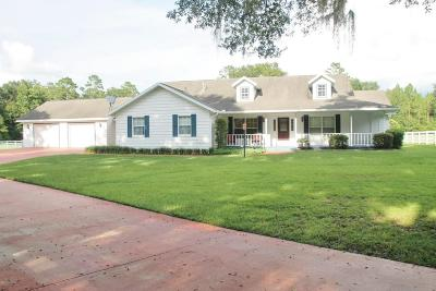 Ocala Farm For Sale: 27 Never Bend Drive