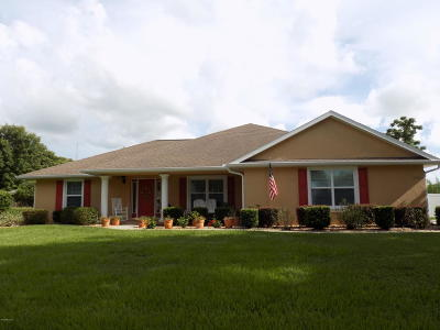 Belleview Single Family Home For Sale: 4260 SE 106th Street