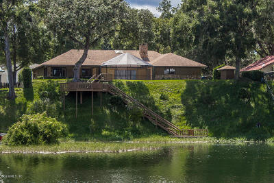 Dunnellon Single Family Home For Sale: 11601 Camp Drive