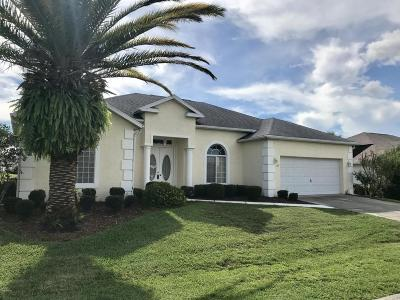 Ocala Palms Single Family Home For Sale: 2282 NW 51st Terrace